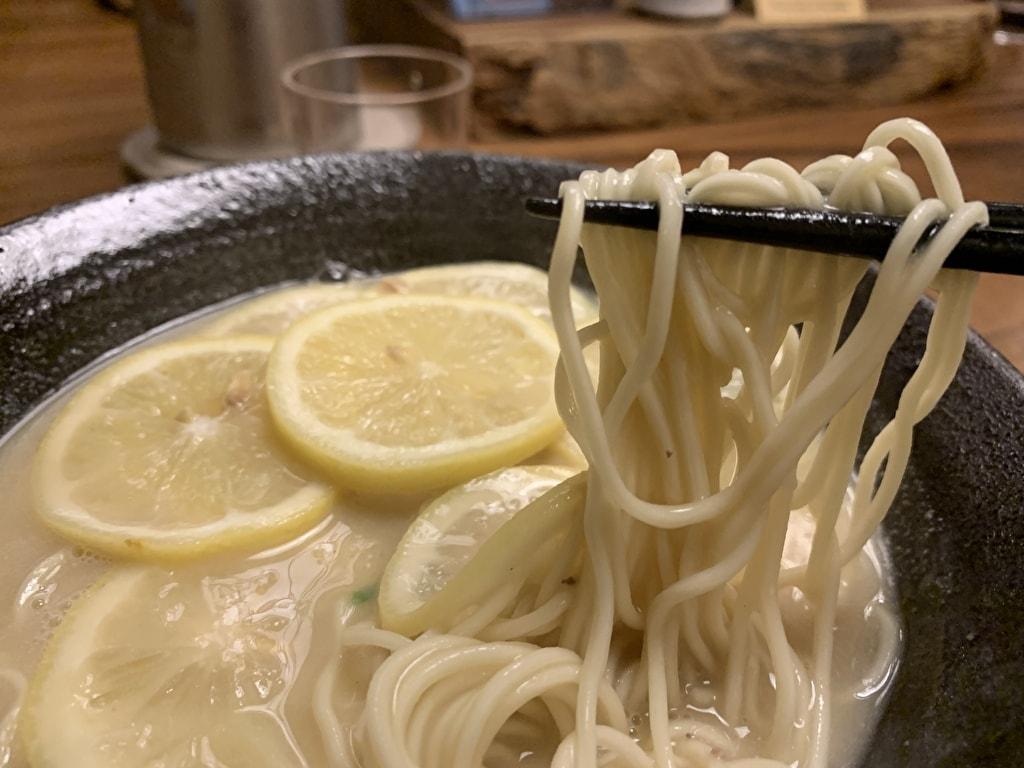 麺処むらじの檸檬ラーメン実食