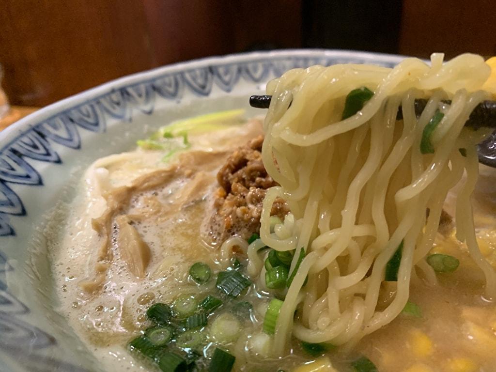 麺屋蕪村の信州味噌ラーメン実食