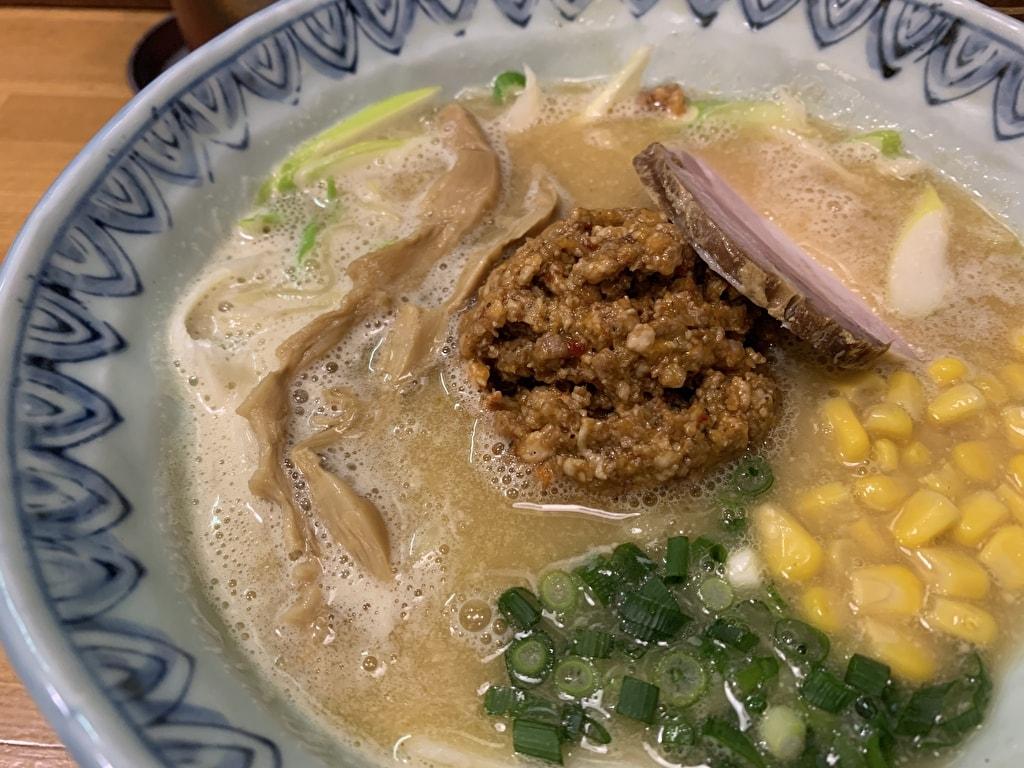 麺屋蕪村の信州味噌ラーメン