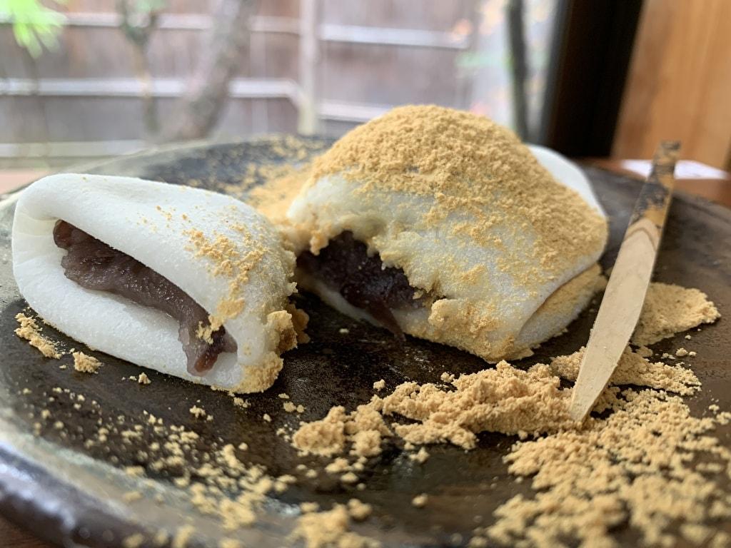 中村軒の麦代餅実食