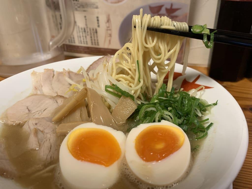 天天有祇園店の鶏白湯ラーメン実食