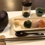 Diner Muromachi menyimpan makanan