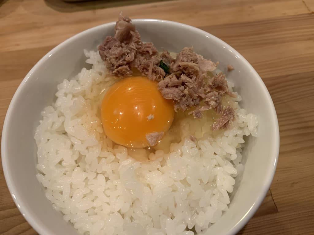 極鶏の卵かけ御飯実食