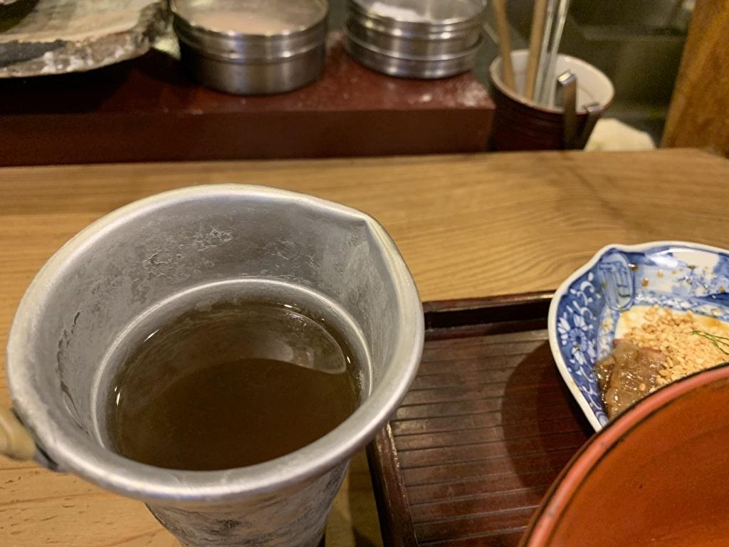 番屋燁の鯛茶漬け一番出汁