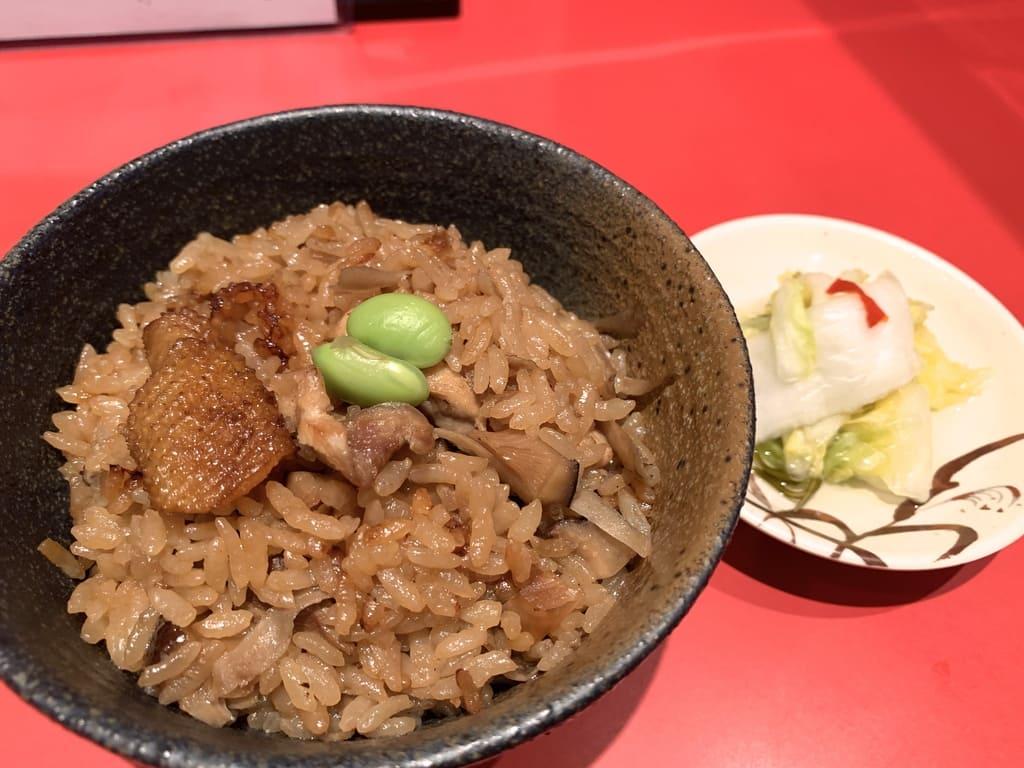 カドヤ食堂の鶏めし