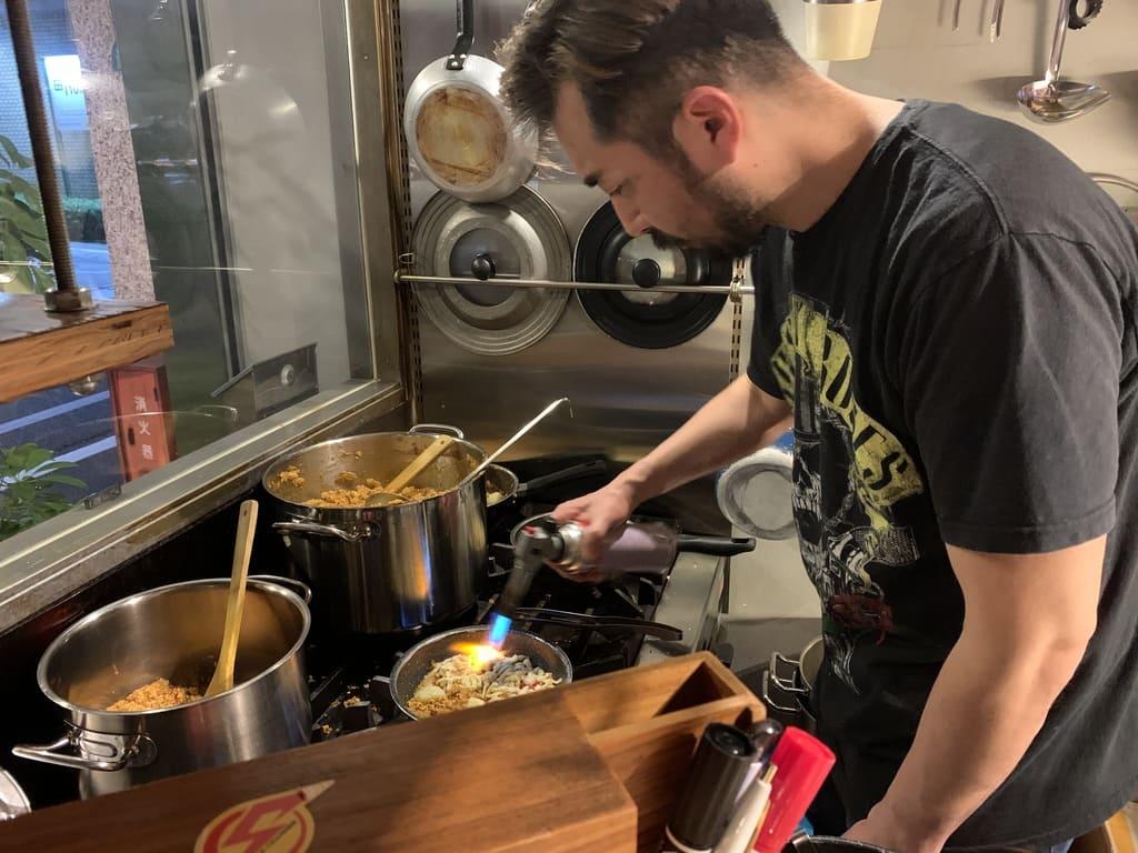Câmara de temperos de cozinha