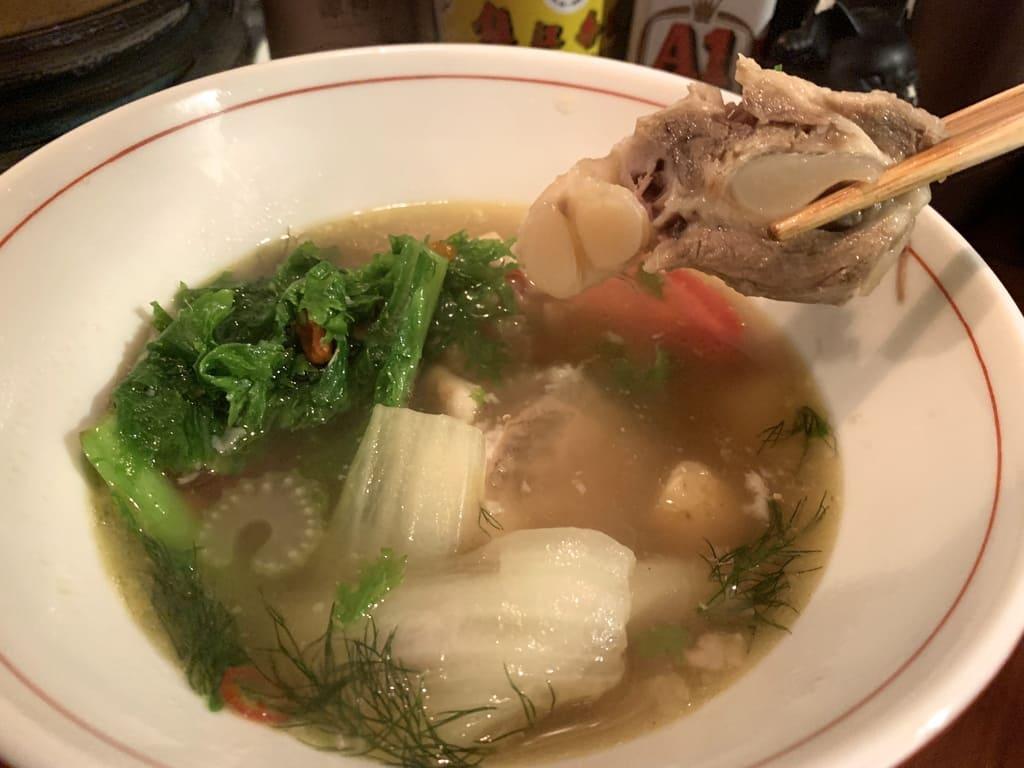 マンボ飯店の肉骨茶(バクテー)スペアリブ