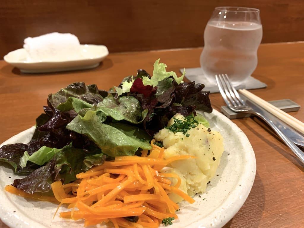 リストランテ野呂のサラダ