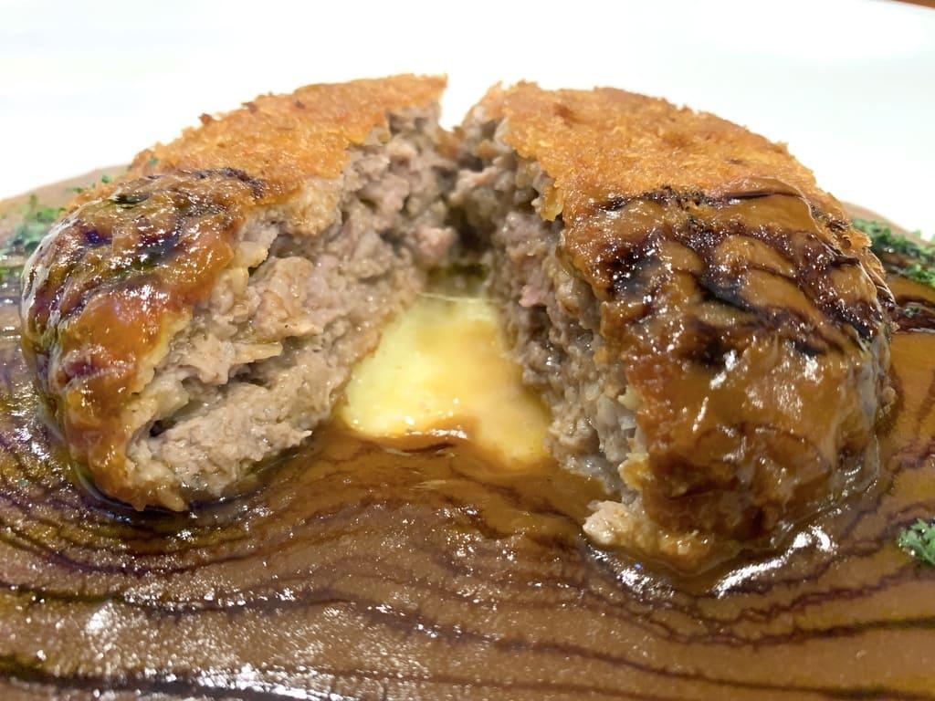 Potongan daging menchi Ristorante Noro