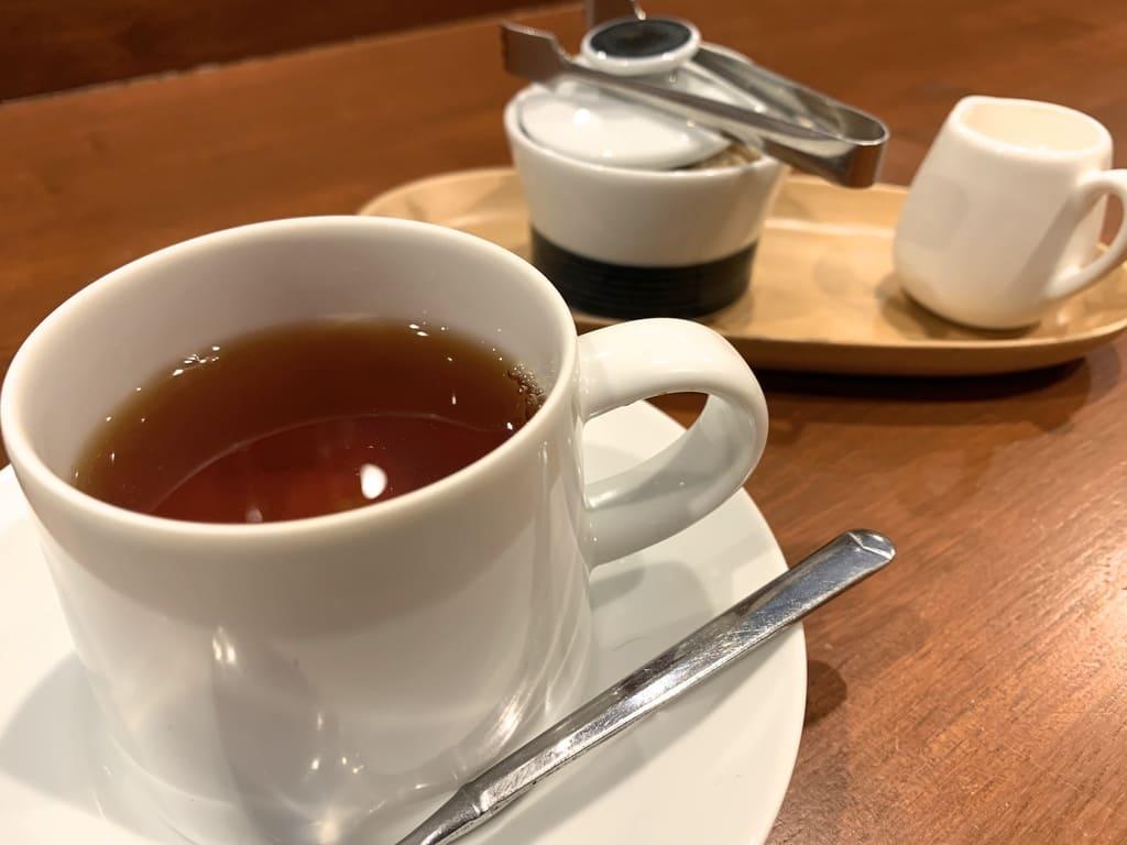 リストランテ野呂の食後の紅茶