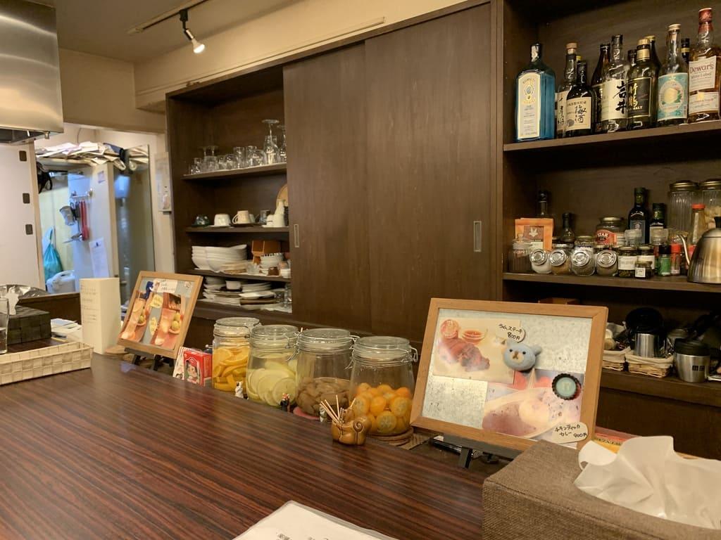 京都先斗町薬膳カレー店内