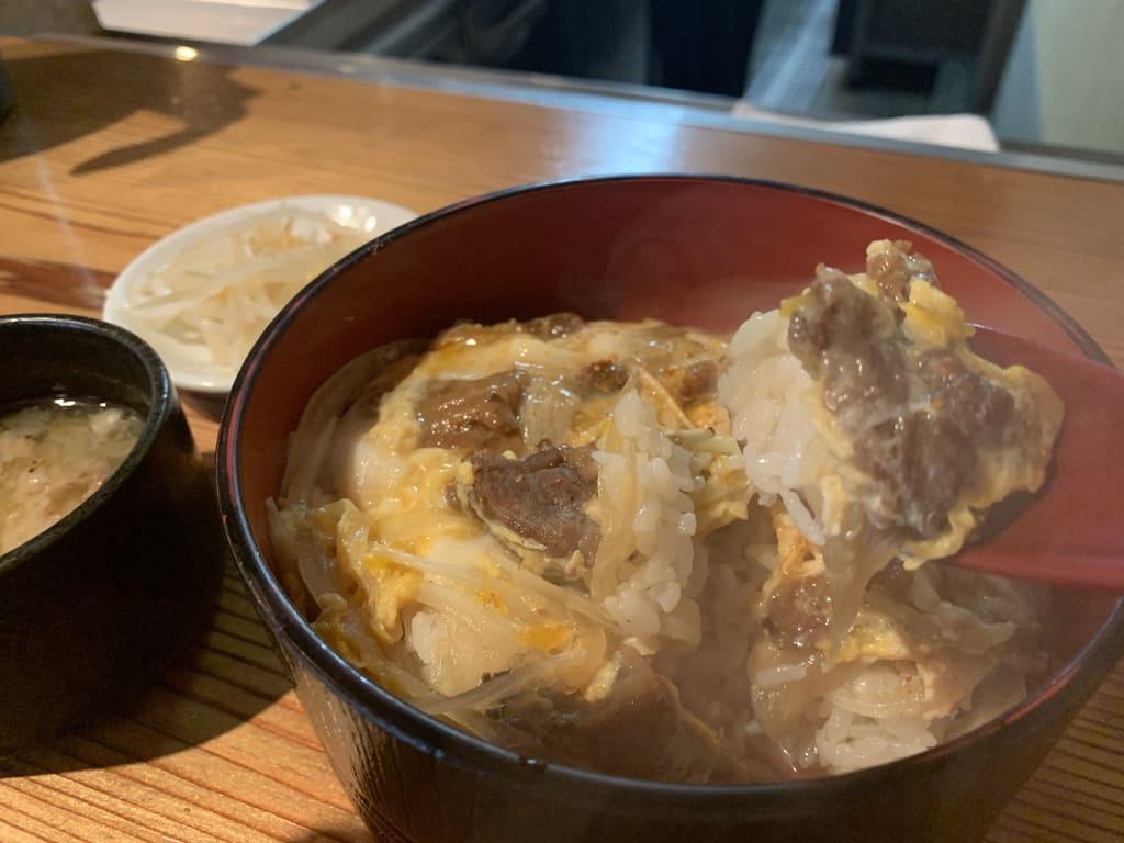鴨川たかしの近江牛丼実食