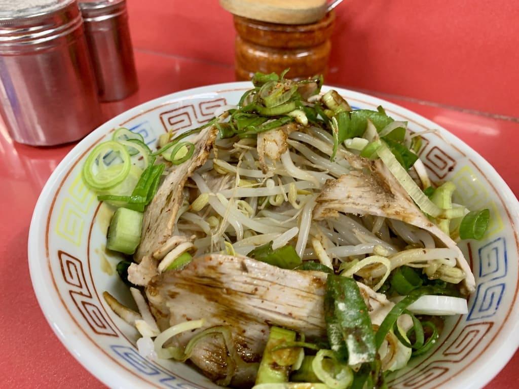 新福菜館のまかない丼実食