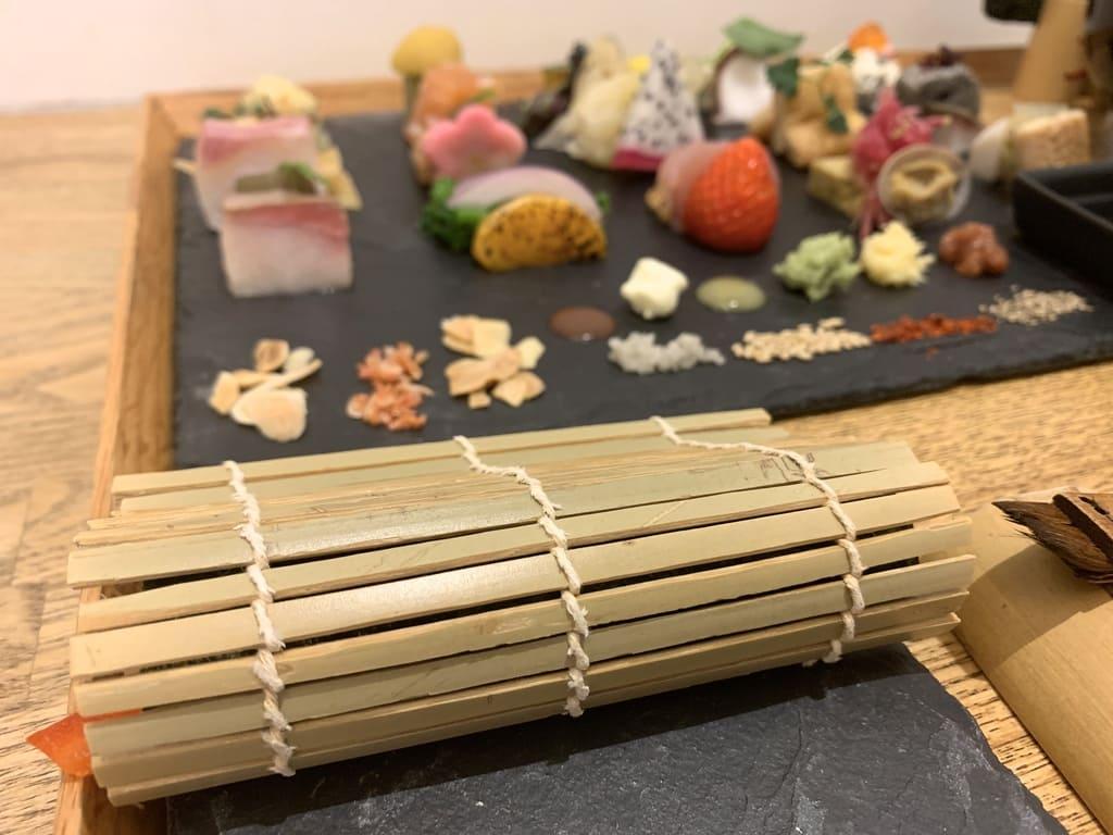 AWOMB烏丸本店の手織り寿司作り方5