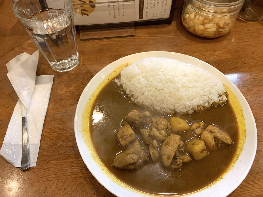 カリルのチキンカレー(辛口)