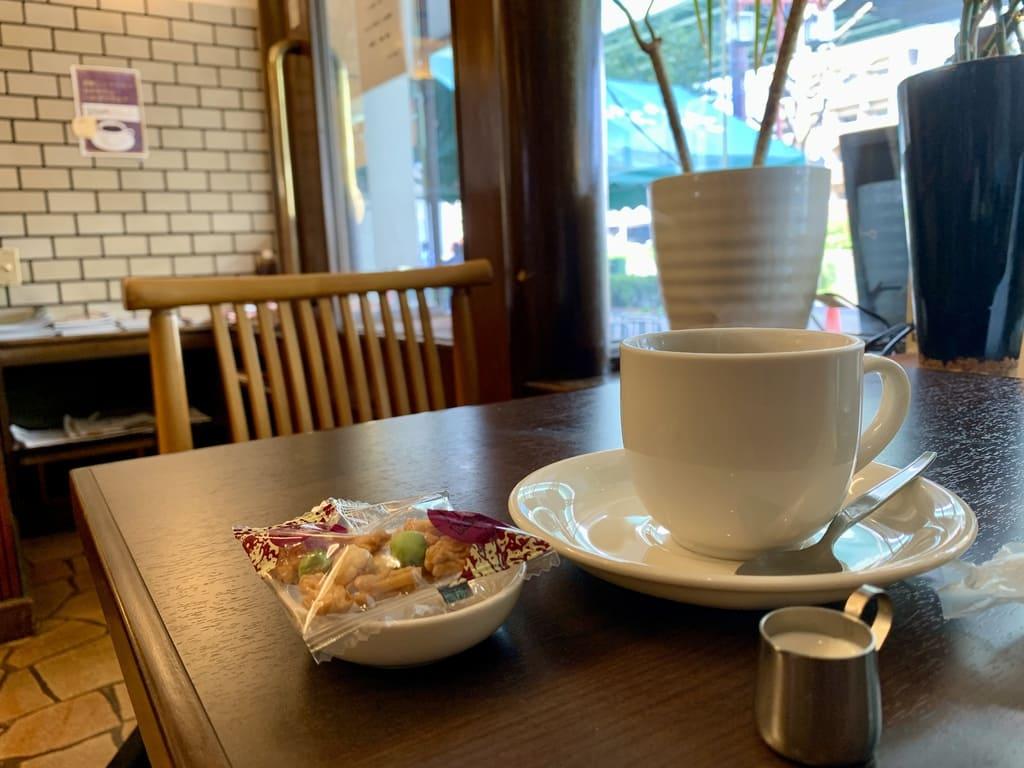 喫茶店ボロンのコーヒー