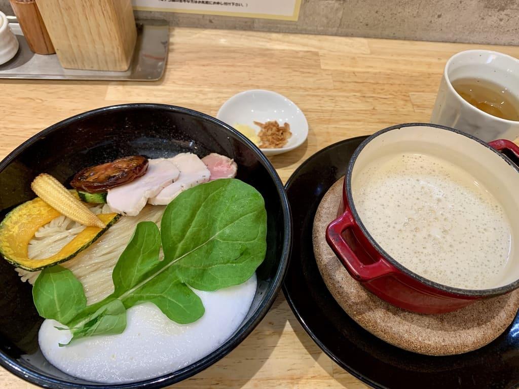 麺屋獅子丸のポルチーニ茸のつけ麺