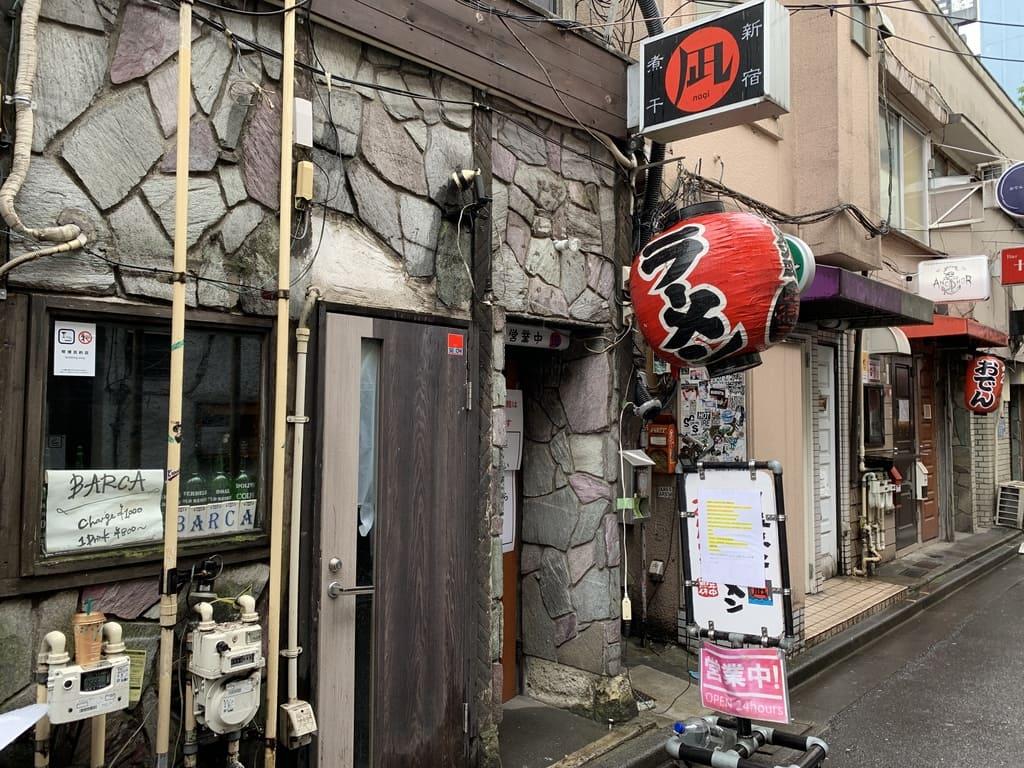 すごい煮干ラーメン凪 新宿ゴールデン街店本館