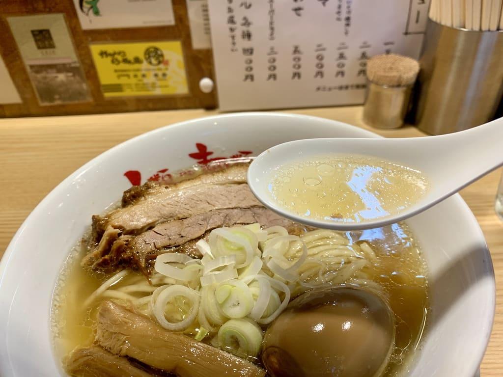 人類みな麺類のらーめんmacroスープ