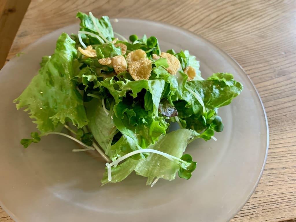 AIDAの定食サラダ