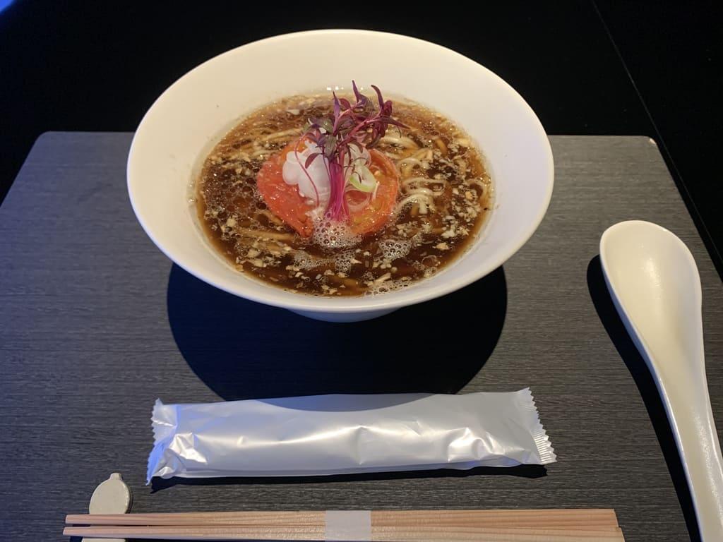 Vegan Ramen UZU KYOTOのヴィーガンラーメン醤油