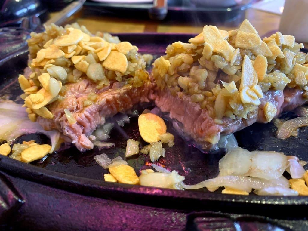 ステーキハウス88Jr.松山店のスタミナステーキ実食