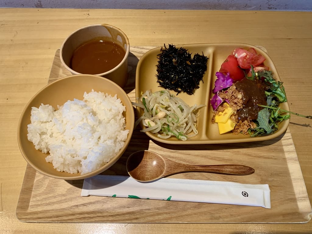 都野菜賀茂 京都駅前店ランチ実食