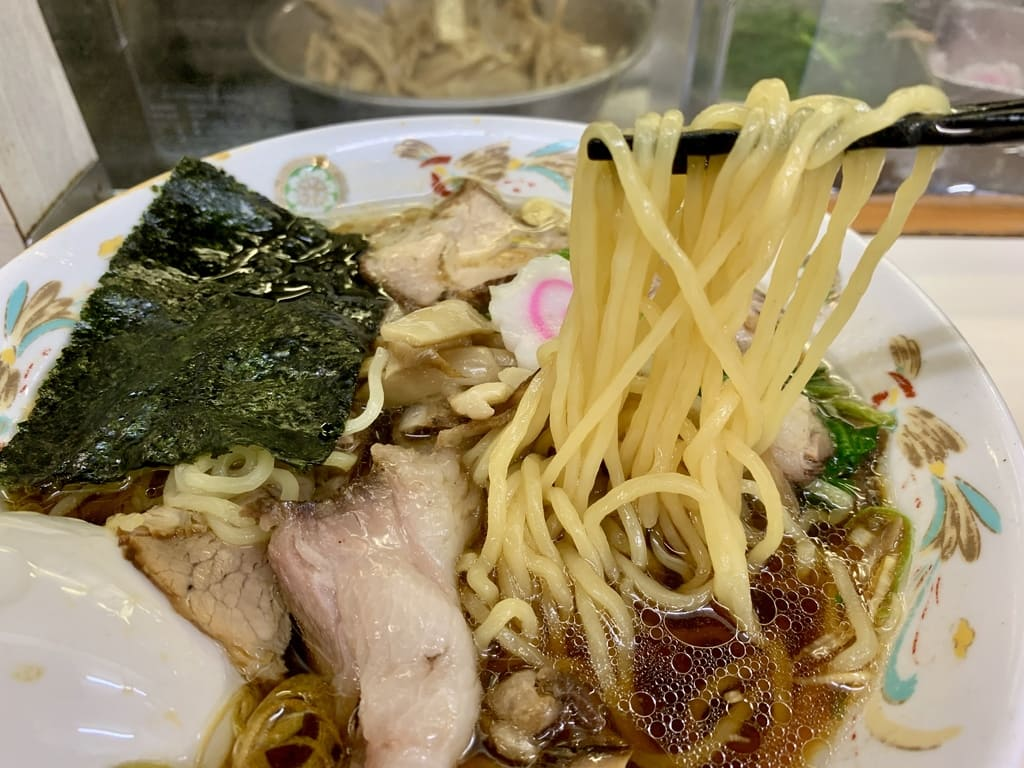 Comida Aoshima char siu de la tienda Aoshima Shokudo Akihabara