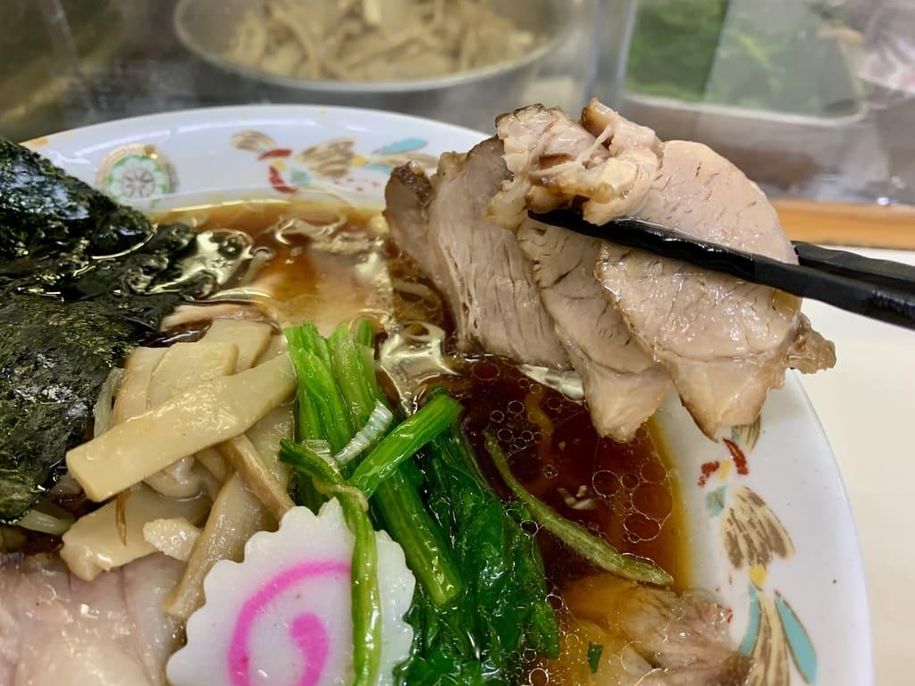 秋葉原店の青島チャーシュー焼豚