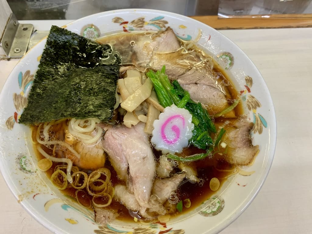 Aoshima char siu de la tienda Aoshima Shokudo Akihabara