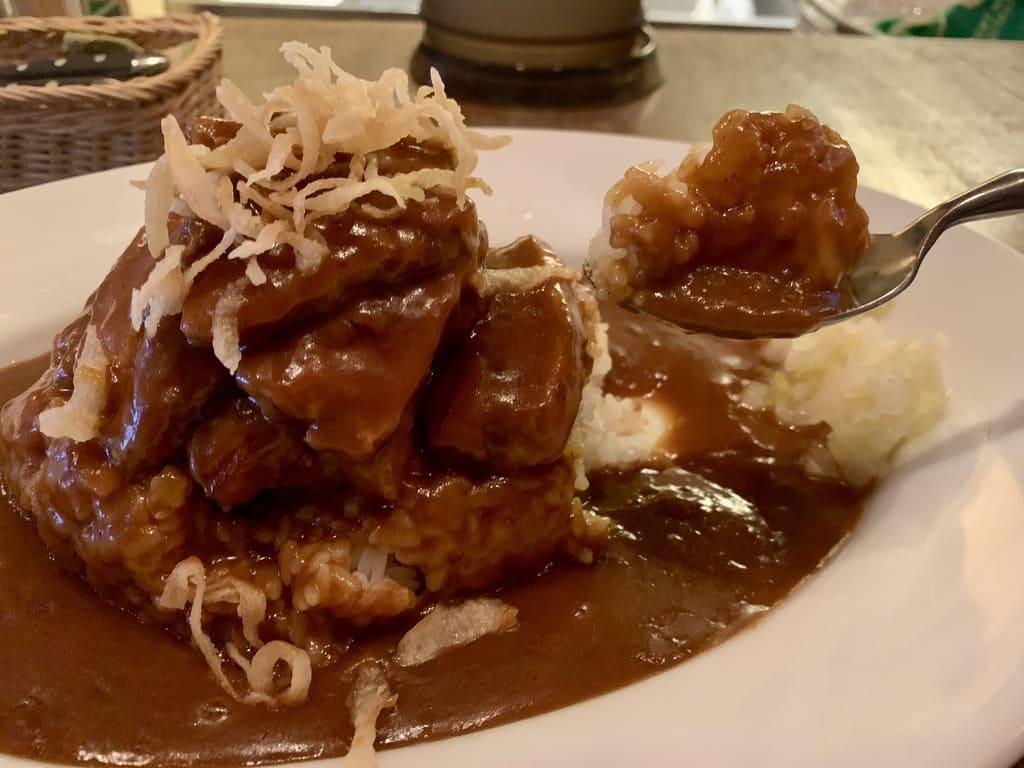 Curry irlandés curry de cerdo irlandés comida real