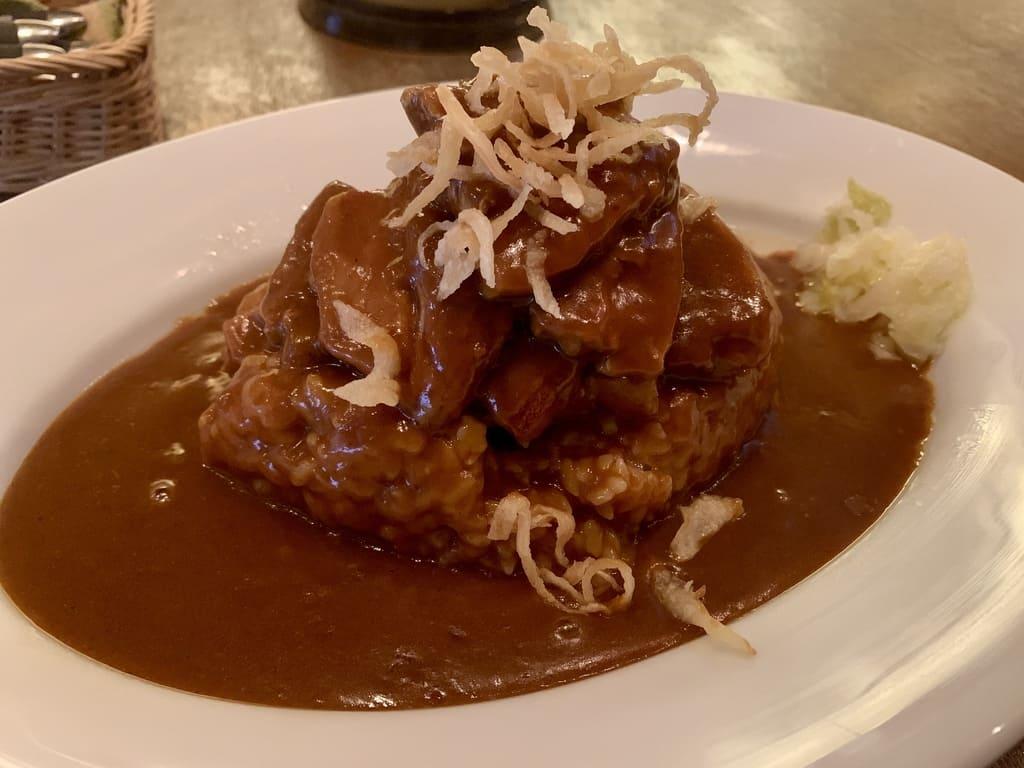 Curry de cerdo irlandés de curry irlandés