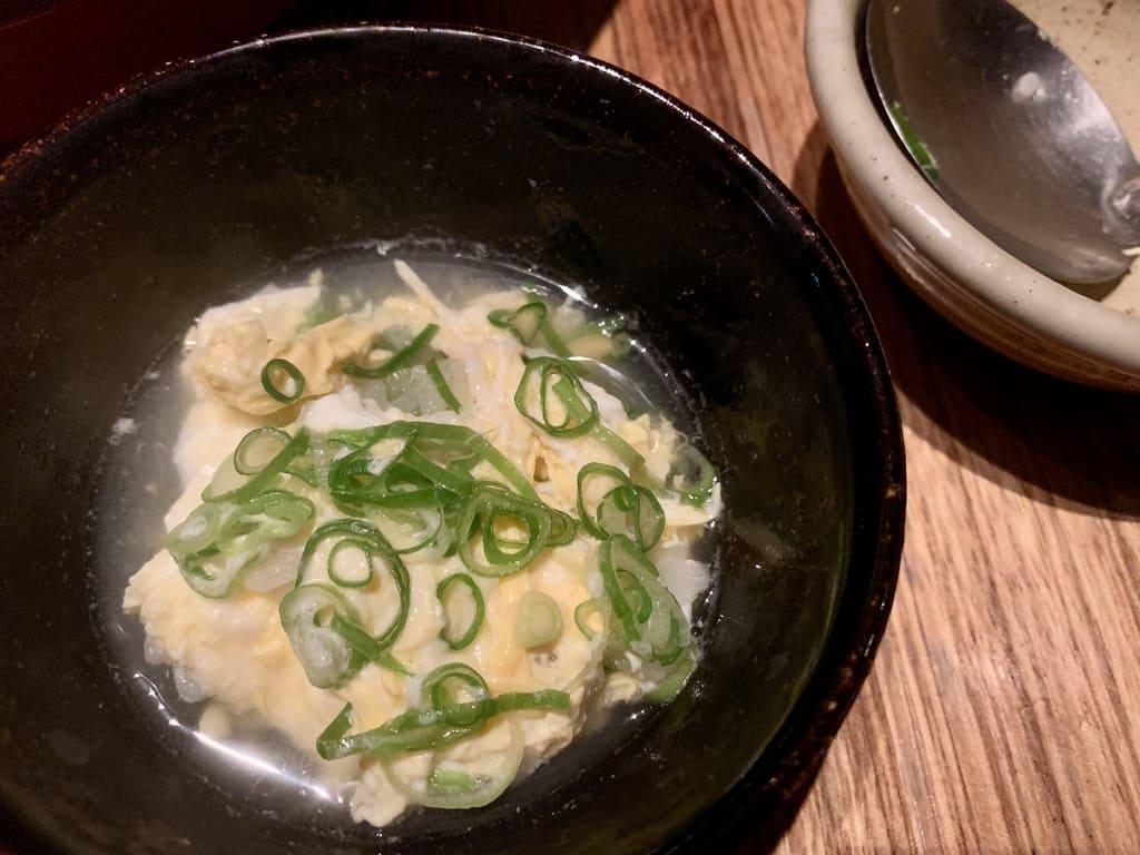 高瀬川くりおの葱ゆず雑炊実食