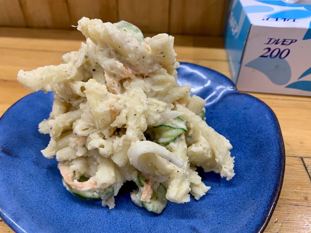 永楽食堂ポテトサラダ