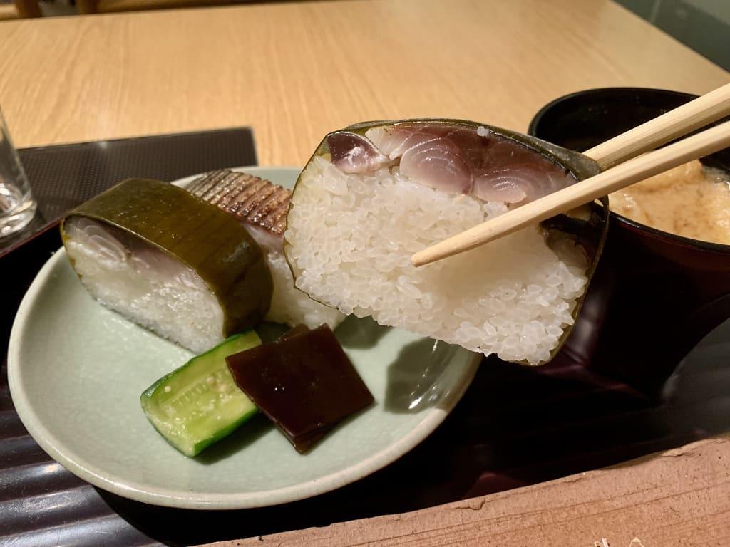 はしたての鯖寿司実食