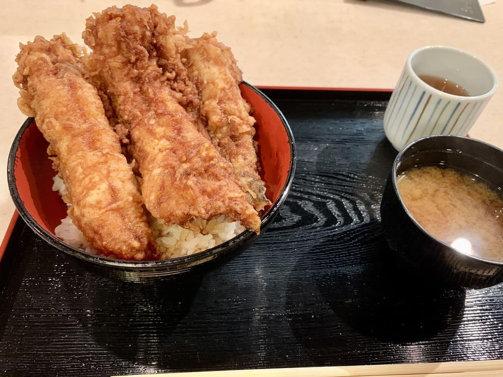 ぎおん天ぷら天周の穴子天丼