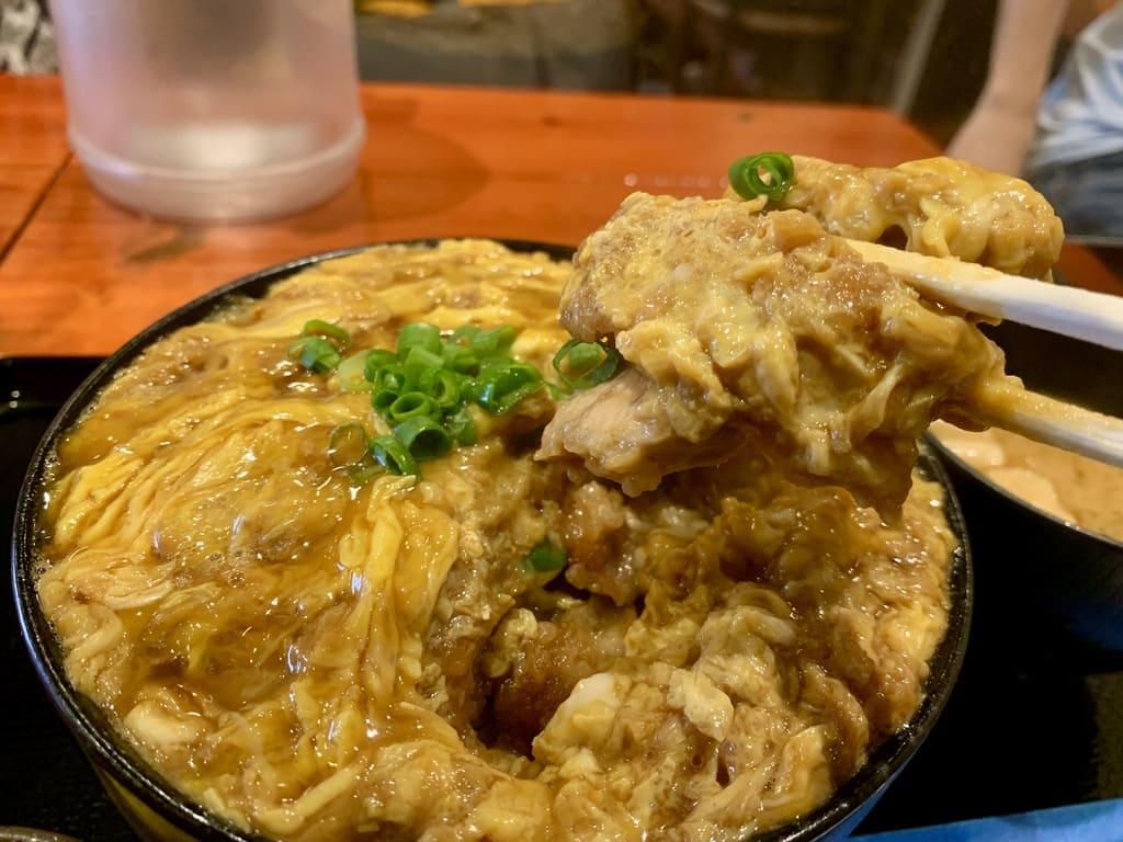 ポミエのカツ丼普通盛り実食