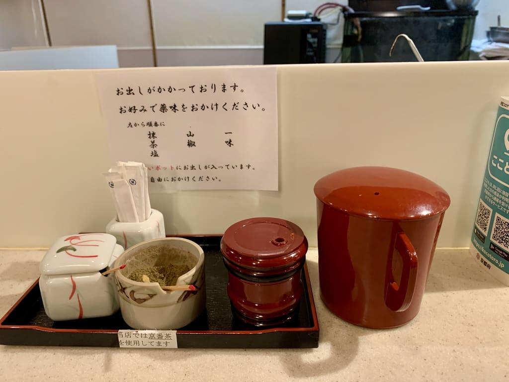 ぎおん天ぷら天周調味料