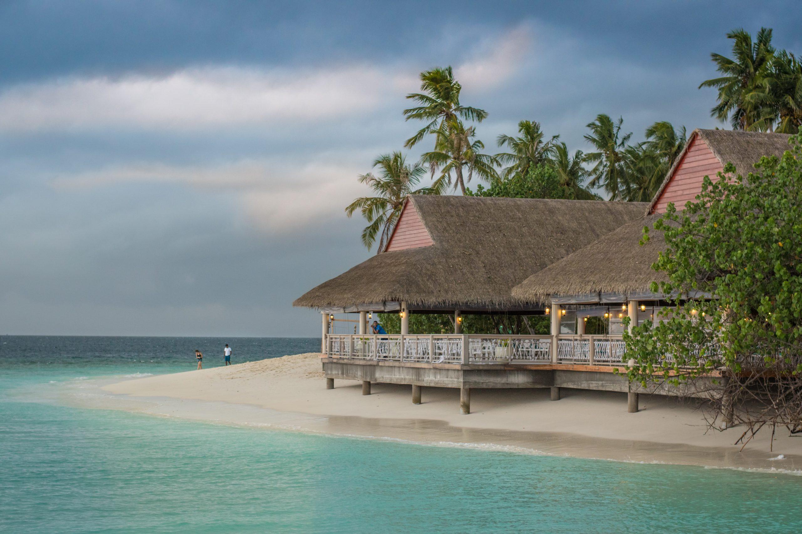 Magnifique maison de plage sur l'océan