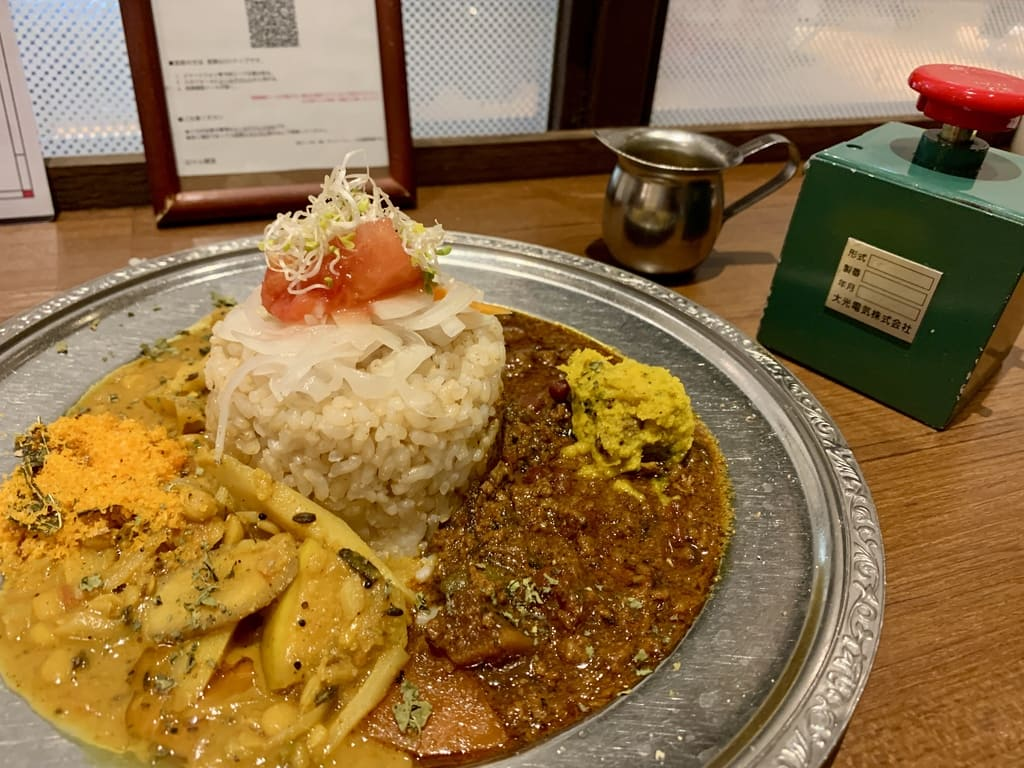 Antiguo ferrocarril de Yam Aigake Curry