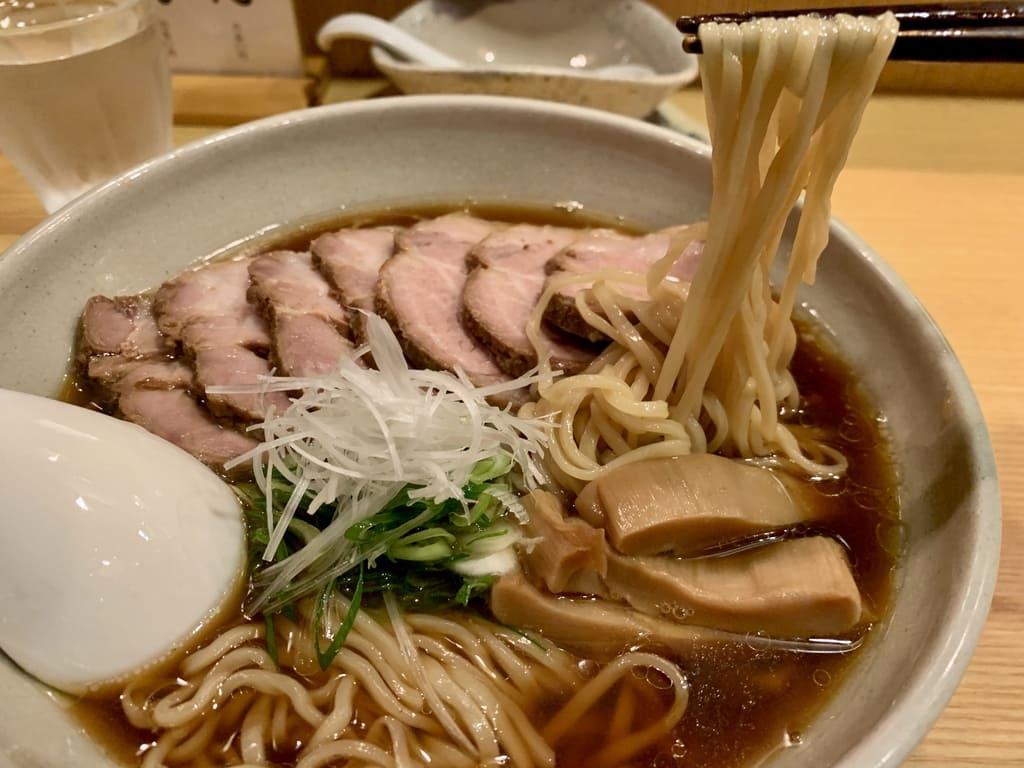 山崎麺二郎のらーめん実食