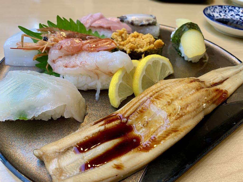 Daimyo Nigiri dari toko sushi rahasia Tenman