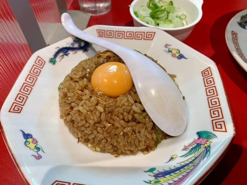 Suehiro Ramen Honpo Akita Sanno Tienda principal Yakimeshi Half Yellow Meat