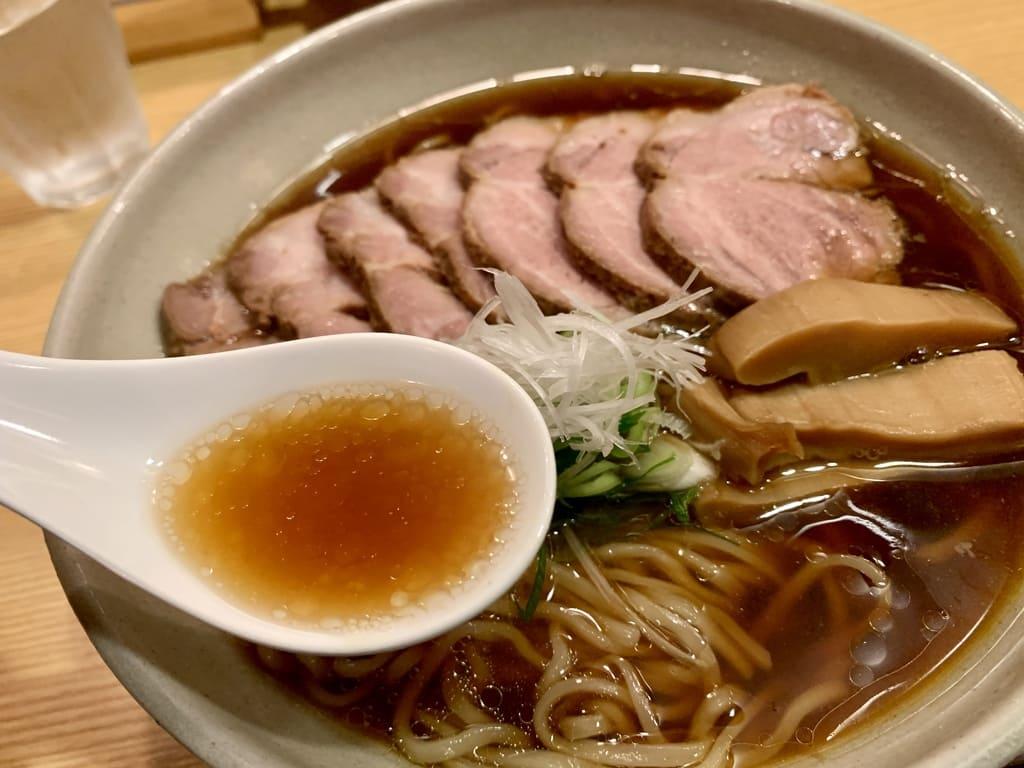 山崎麺二郎のらーめんスープ