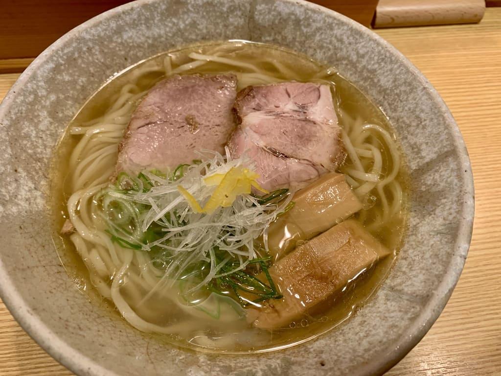 山崎麺二郎の塩らーめん