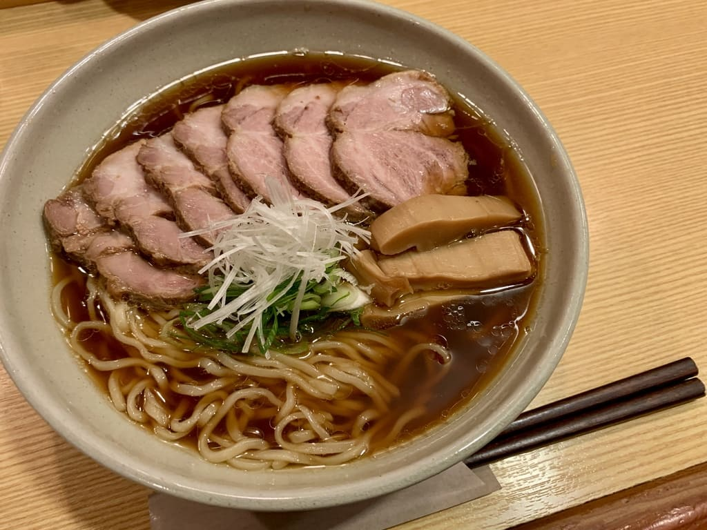 山崎麺二郎のらーめん