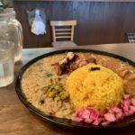 Curry Aigake du magasin Chaos Spice Diner Osaka