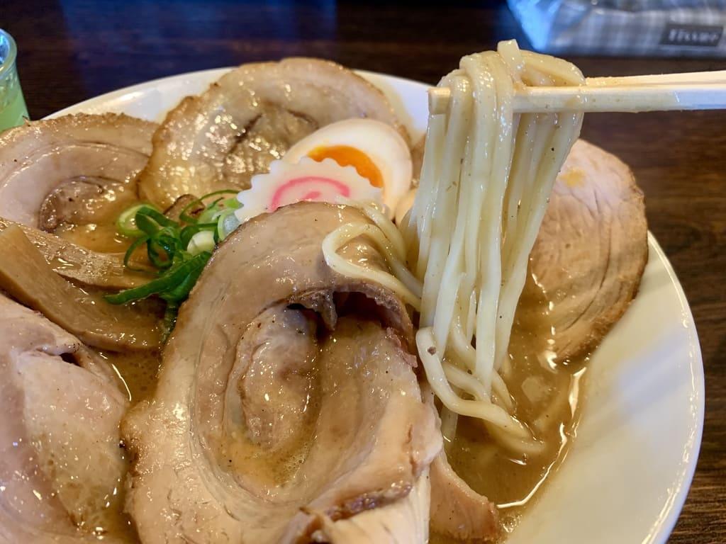 麺や紡の熟成らー麺実食