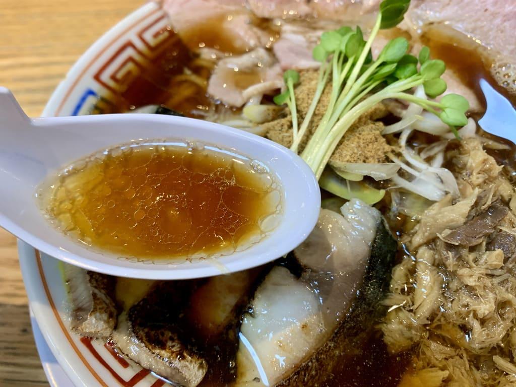 サバ6製麺所のサバ6プレミアムスープ