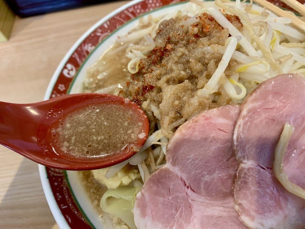 セアブラノ神 伏見剛力の神二郎スープ